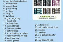 THIRTY ONE -  Organizing Tote Ideas / by ReMemory Designs
