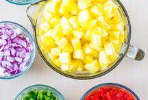 Salad salsa / Recipes