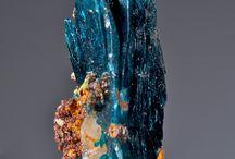 Crystals, stones, shells