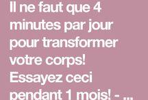 Transformer son corps