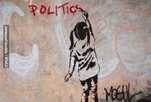 Streetart_politiek 'anoniem/graffiti