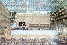 Restaurants interiors