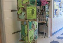 PYP Exhibition displays