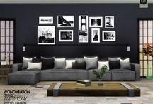 The Sims 4 livingroom stuff