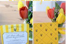 Wedding - Bee themed and DIY