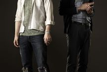 Hemlock Grove Baby! / My latest vampire/werewolf/Gothic crazy TV show obsession.  Soooo good.