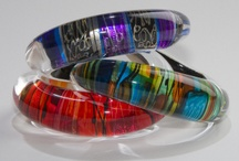 Bangles, bracelets and cuffs by Gail Klevan Jewellery / Bright beautiful bangles, bracelets and cuffs by Gail Klevan