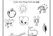 Classroom Color worksheets