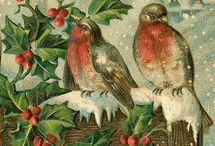 Christmas card - vintage