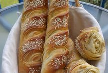 Brioches, pains et viennoiseries