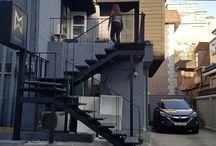압구정 계단