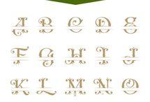 Letters monogram
