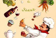 Temas de cozinha papeis