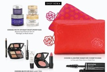 Lancome Gift with Purchase / Lancôme cosmetics and the bonus gifts (GWP offers) will be posted here and here: http://cliniquebonus.org/lancome-gift-with-purchase/. Just make the qualifying purchase and you will get one of the gift-set below.