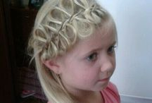 Penteados da charlotte. Updos and braids. / Hair styles and braids