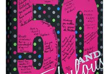 50th Birthday / 50th Birthday signature canvas...The perfect gift for celebrating someone special! Make memories last with this keepsake canvas! #50thbirthdayparty #50th #birthday #50thbirthday