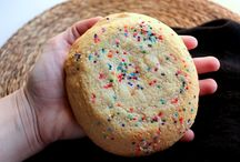 Jumbo Cookies / An oversized version of a cookie, often large enough to cover the palm of your hand -- Jumbo Cookies are perfect for picnics, bake sales, and cookie gift baskets. http://www.cookie-elf.com/jumbo-cookies.html