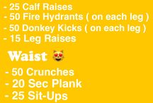 fitness // workouts