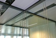 DELA HQ Belgium / Glass Acoustic Partitions at Dela´s Office in Belgium