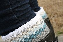 Crochet - Boot Cuffs