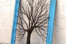 kawat pohon
