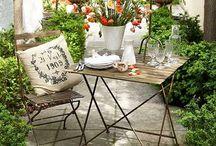 Jardines al aire libre