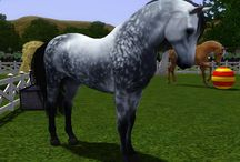 The sims 3 horses