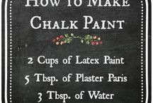 Chalk Paint / Home decor with chalk paint
