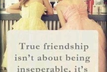 Friendship / Quotes about friendship
