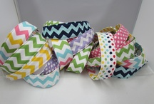 SAMS BANDS / Reversible Cotton Headbands made by my sweet husband. For girls and women of all ages. 8 and up.