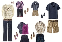 What to Wear for Family Portraits / Outfits compiled for inspiration! For clients of Kate's Lens Photography