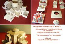 Andrea Palladio, Villa CAPRA , detta LA ROTONDA, scala 1:300 / modello smontabile in scala 1:300 in resina