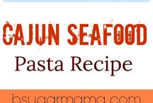 Seafood Recipes / Shrimp, lobster, oysters, crabs....oh my!