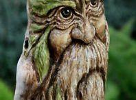 sculpture sur bois etc