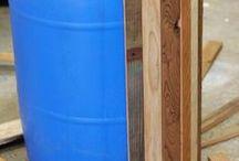 balze in legno