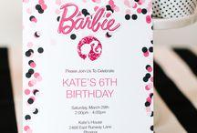 Birthday Party Invitations / Downloads and Printables for girls birthday party invitations / by Gem Veranda Beading Birthday Parties