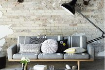 Creative walls / Use creativity to make your home fascinating and different!
