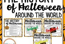 October Classroom / October Resources, Activities, and Ideas for Math Teachers, Educators, and Students in Upper Elementary and Middle School - Halloween, Fall, Pumpkins