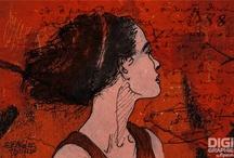 Ancre-Rouge / Illustration Corel Painter