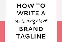 Branding Tips / Branding design, branding strategy, business branding, branding ideas, brand your marketing, branding your social media, website branding