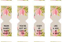 Tea bag tags