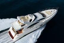 Yacht / Le foto più belle dei moderni yacht. Nautica, barche a motore