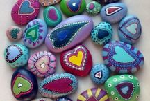 Pebble painting