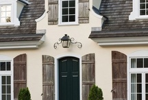 French Counry Homes - Exterior / by Shelly Ebersohl Byrd
