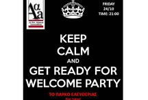 AAA - WELCOME PARTY 2014 / AAA - WELCOME PARTY 2014