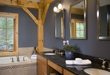 Bathroom Ideas / by Woodhouse Timber Frame