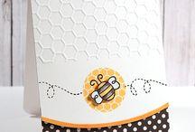 Cards--Bees / by Patti La Bombard
