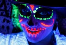 Halloween Fluo Phospho / Pour trouvez de l'inspiration pour rendre vos soirées Halloween originales et complètement fluo, c'est ici !