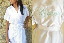 Robes Personalizados / Lindos robes com muitos detalhes personalizados