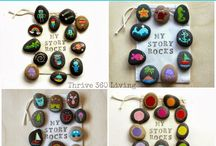 Story stones / Toddler crafts